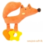 Preview: Windeltorte Fuchs orange mit Windelbaby